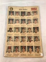 1959 Phillies Newspaper Article From Philadelphia
