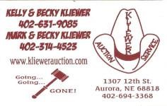 Kliewer's Auction Service LLC