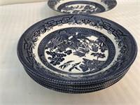 "Churchill ""Willow-Blue"" English China"