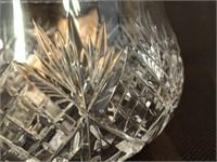 Lead Crystal Bowl & Vase