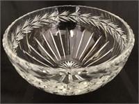Mikasa Vase and Lead Crystal Bowl
