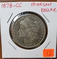 Silver Dollar and Coin Auction