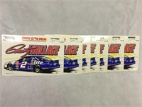 Rusty Wallace #2 NASCAR Static Clings NOS