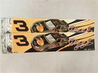 NASCAR Racing Bumper Stickers NOS