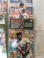 Beckett Baseball Card Monthly Vintage Magazines