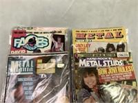 Heavy Metal Vintage Magazines