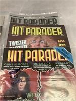 Hit Parader's Guitar Gods Fall 1987 and More