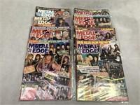 Metal Edge Vintage Magazines ct.9