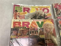 Bravo Magazine Vintage 1983 and 1984 ct.5