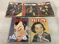 Preview Magazine 1952 and More ct.5