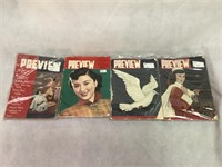 Preview Magazine 1951 and 1951 ct.4