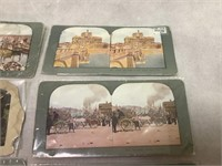Stereoview Slides Italy, Norway, and More