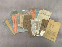 Vintage Report Cards and More