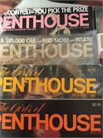 Penthouse Vintage Magazines