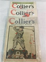 Colliers National Weekly Vintage Magazines