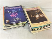 VIntage Sheet Music Magazine Large Lot