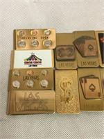 Las Vegas Vintage Money Clips and More NOS