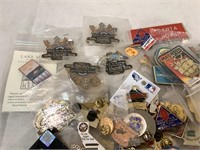 Assorted Collectible Pushpins - Large Lot
