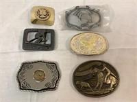 Vintage Assorted Belt Buckles