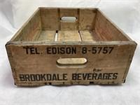 Brookdale Beverage Wooden Crate