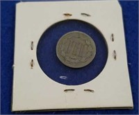 1867 3 Cent Nickel