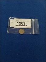1867 Us Three Cent Piece