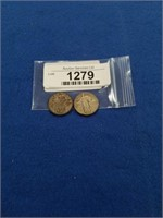 1927 Standing Liberty Quarters