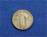 1929 Standing Liberty Quarters