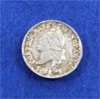 1861 Confederate Cent Recast