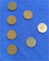 1899-1901 Indian Head Cents