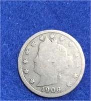 1906 & 1912 Liberty Head Nickels