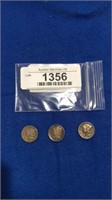 1916 & 1945 Mercury Dimes