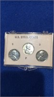 1943 Steel Cent Set