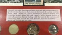 Framed Us Coin Type Set