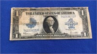 1923 Silver Certificate One Dollar