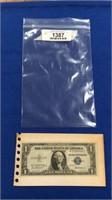1935 F $1 Silver Certificate