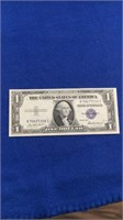 1935-f Series $1 Silver Certificates