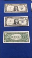 1957-b Series $1 Silver Certificates