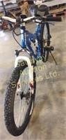 Dual Suspension Xranked Bicycle has Aluminum 17...