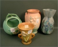 ROSEVILLE / WELLER & MORE ART POTTERY AUCTION