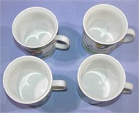 Kronoster Bavaria W Germany Child Mugs set of 4