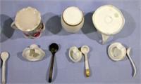 Vintage Porcelain Sugars set of 5