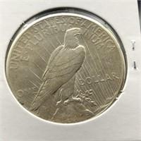 1928 S PEACE DOLLAR  VF