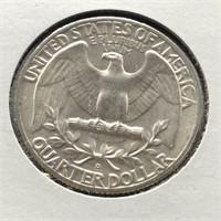 1961 D WASHINGTON QUARTER GEM