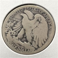 1921 S WALKING HALF DOLLAR  G