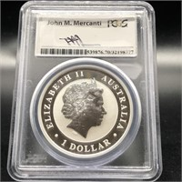 2015 PCGS MS70 WEDGE TAILED EAGLE
