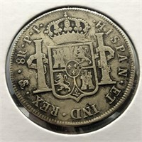 BOLIVIA 1799 8 REALS  VF