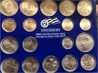 2009 MINT SET P D MINTS