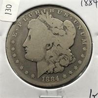1884 MORGAN DOLLAR  G