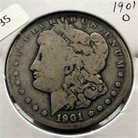 1901 O MORGAN DOLLAR G